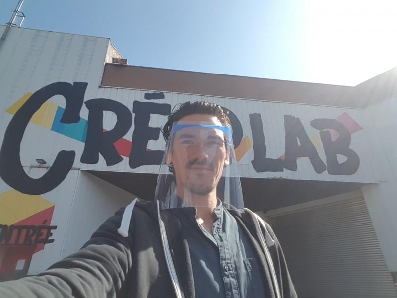 Julien Lorguet, Fab Manager du Cré@lab