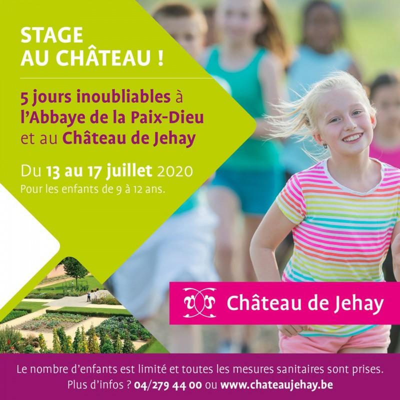 Stage au Château!
