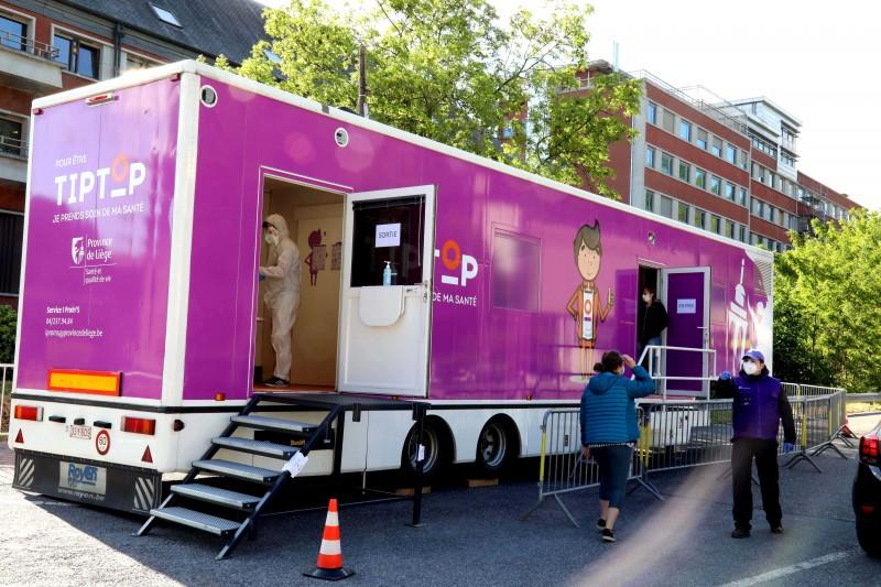 La Province de Liège soutient  les acteurs de la santé dans la lutte contre le coronavirus
