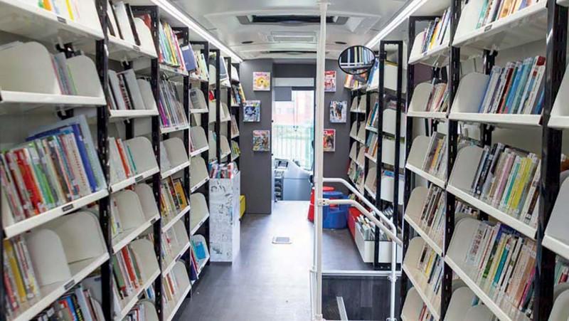 Bibliobus de la Province de Liège