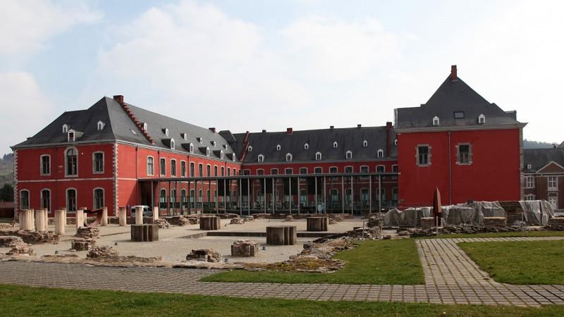 Ils font bouger le territoire, la Province de Liège les  soutient: l'Abbaye de Stavelot
