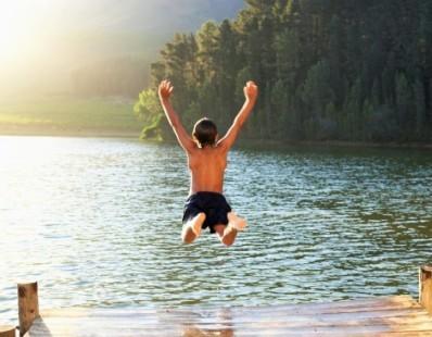 Schwimmen und Tauchen
