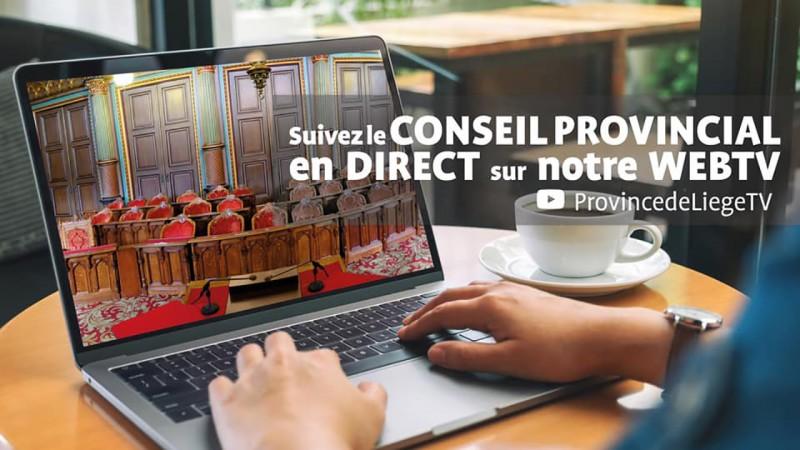 Conseil provincial de Liège en direct