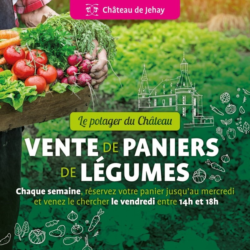 Vente de paniers de légumes