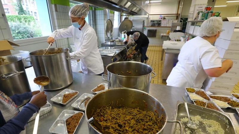 1700 repas par jour dans les cuisines de l'EP Verviers