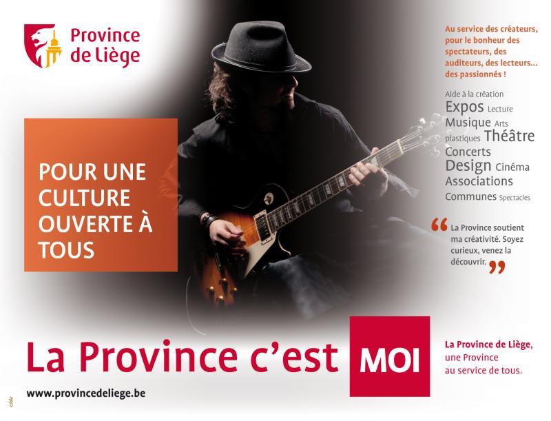 Campagne de ommunication: La province est là!