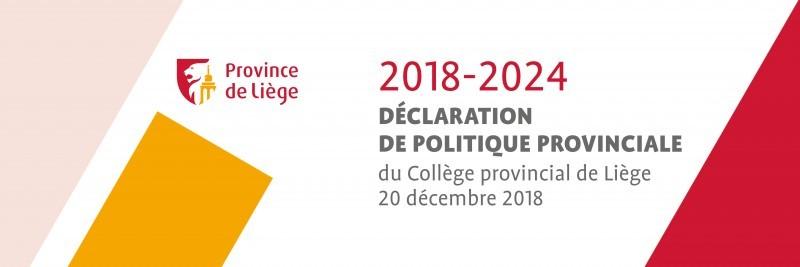 Déclaration de politique provinciale 2018-2024