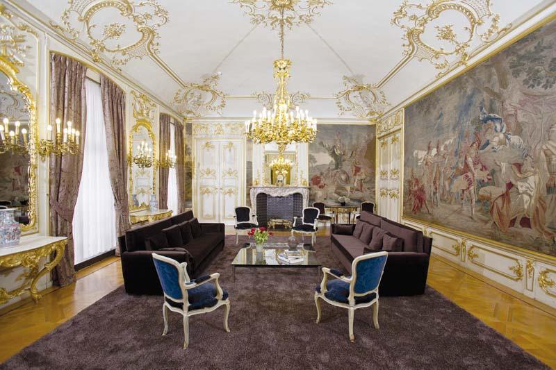Salon Achille de l'Hôtel provincial