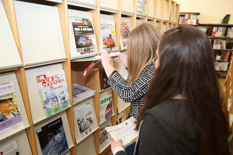 Visiter la Bibliothèque-mediathèque Chiroux