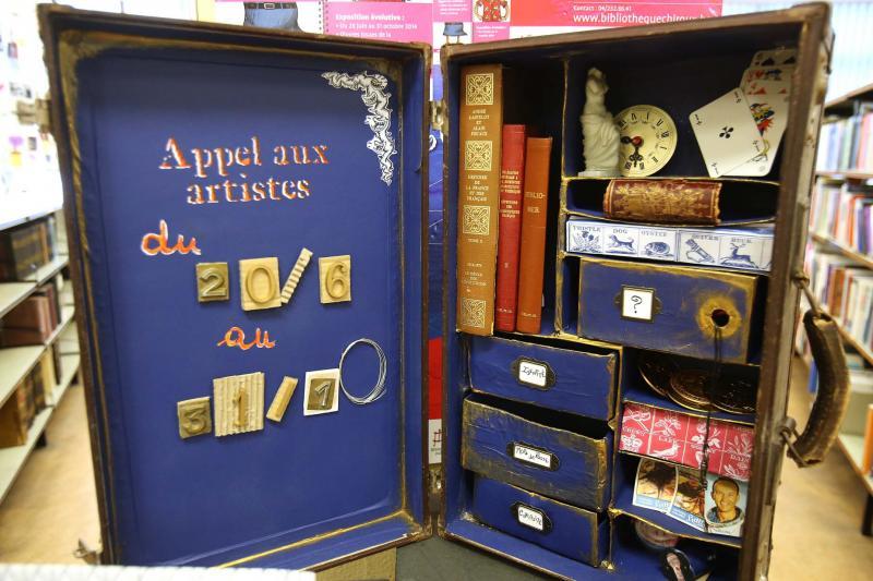 Bibliothèque Chiroux - Appel aux artistes