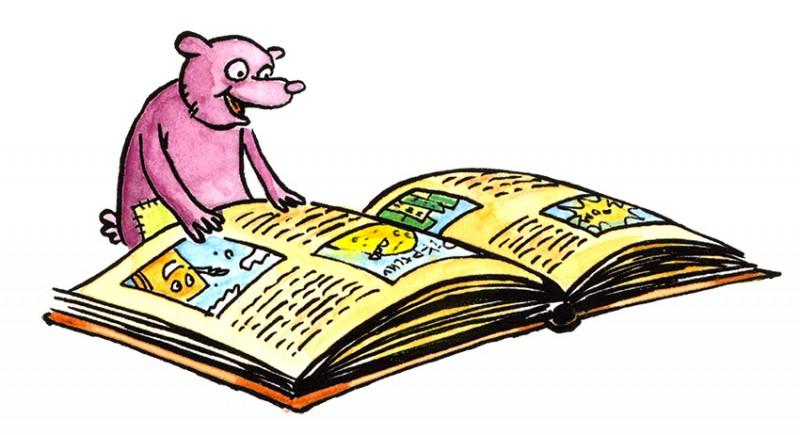 Bébé lis avec nous