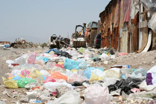 Infraction: abandons de déchets.