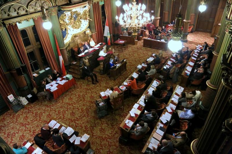 Une sénace du Conseil provincial
