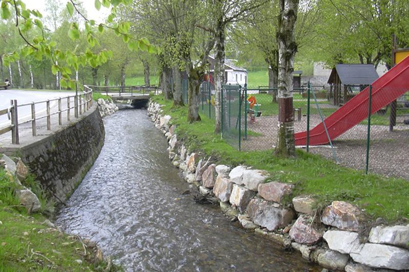 Cours d'eau aménagé
