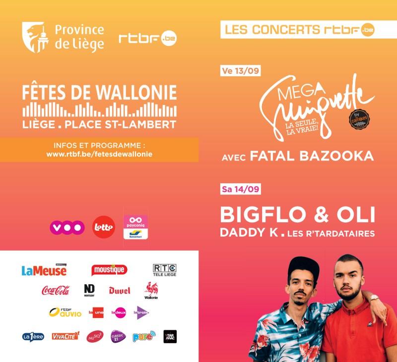 Les concerts Place Saint-Lambert
