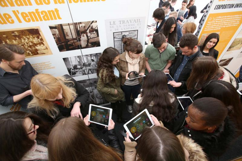 Une exposition interactive