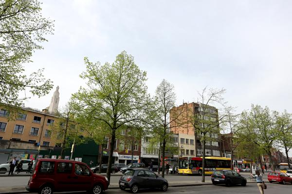 Place Général Leman à Liège