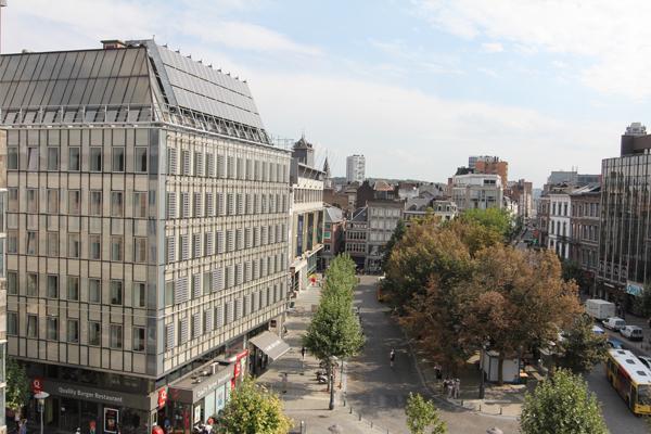 La Place de la République Française à Liège