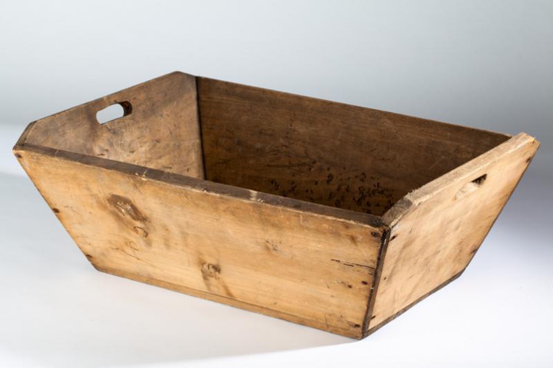 Pétrin domestique en bois, Chênée 19e siècle (MVW 5030295)