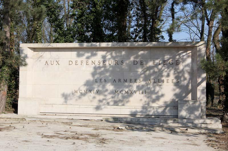 Mémorial Interallié de Cointe: aux défenseurs de Liège