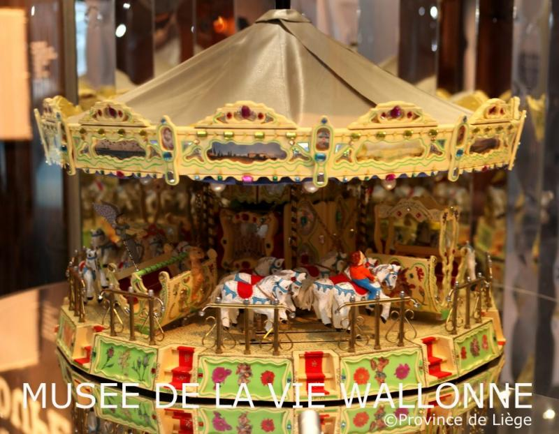 Maquette du Carrousel de Bairolle