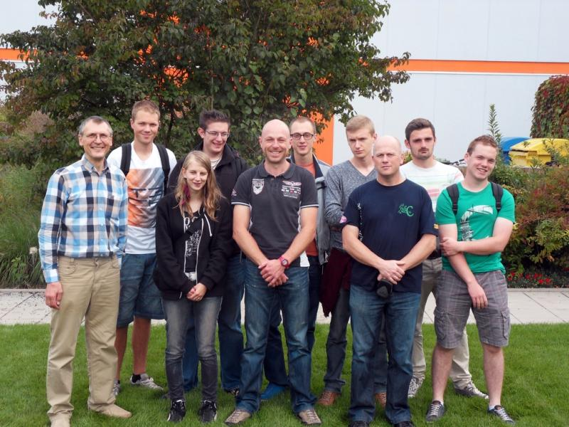 Des étudiants de l'IPEA de La Reid à Nuremberg pour une visite hautement horticole !