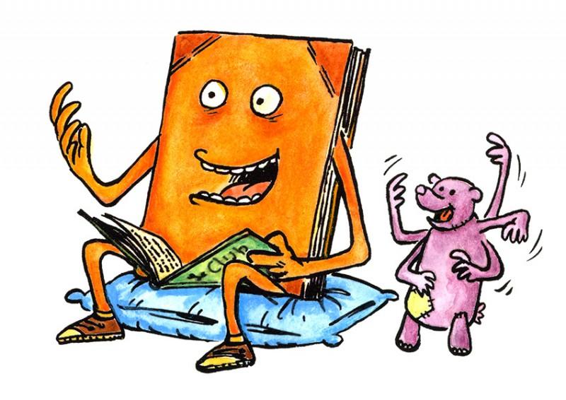 Heure du conte pour les enfants à la bibliothèque Chiroux