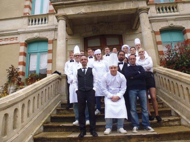 IPES Hesbaye: des futurs restaurateurs en stage à Arcachon