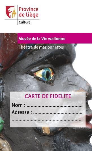 Carte de fidélité Théâtre de marionnettes