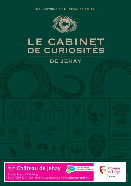 Het Curiositeitenkabinet van Jehay - Province de Liège ©