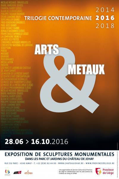 Arts & métaux – trilogie contemporaine 2016