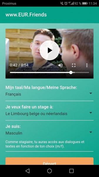 App EURFriends