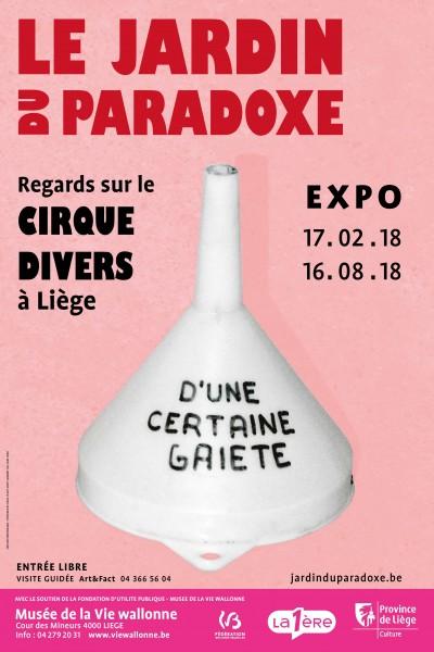 Affiche Cirque Divers - Jardin du paradoxe
