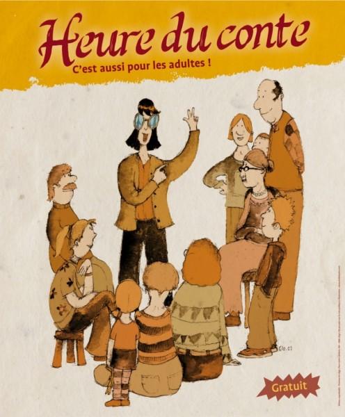 Les contes, c'est aussi pour les adultes ! - Bibliothèque Chiroux