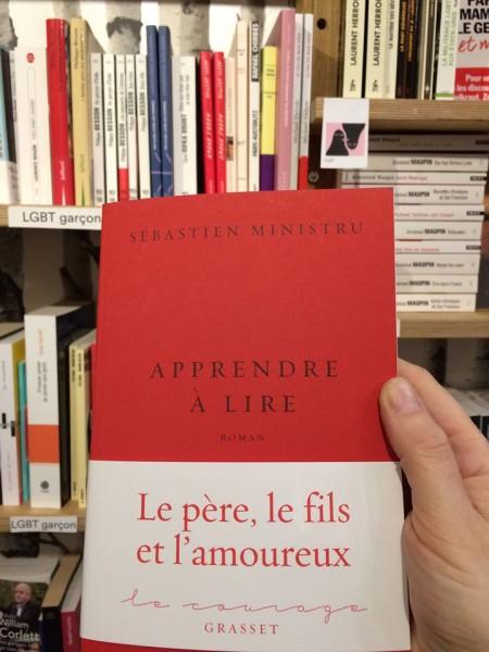 Apprendre à lire de Sébastien Ministru