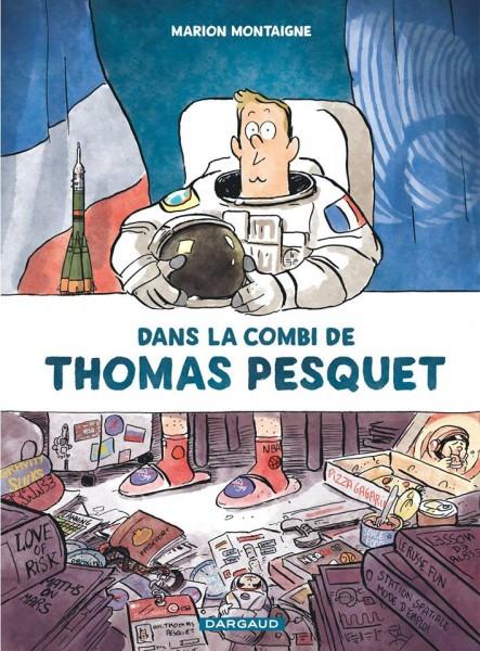 Dans la combi de Thomas Pesquet / Marion Montaigne
