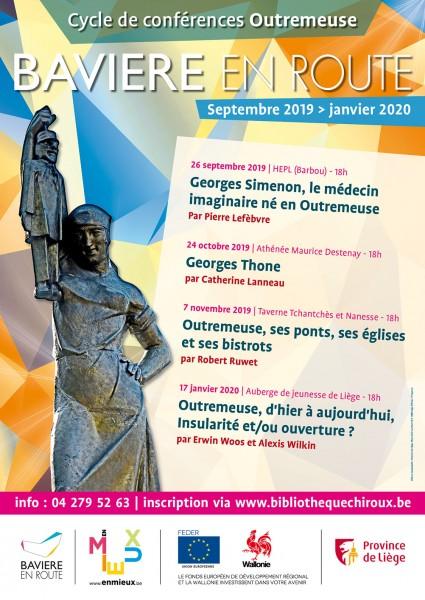 Affiche Conférences Outremeuse