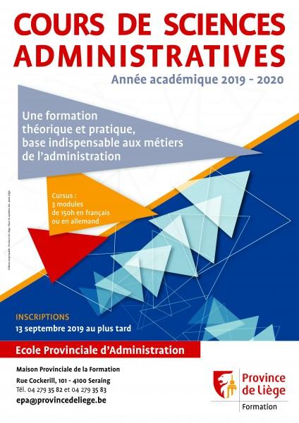 Rentrée 2019-2020