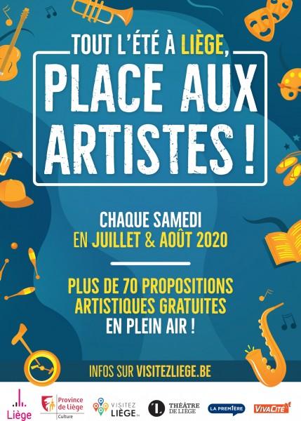 Place aux Artistes - Liège