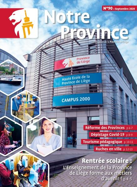 Notre Province n°20 - septembre 2020