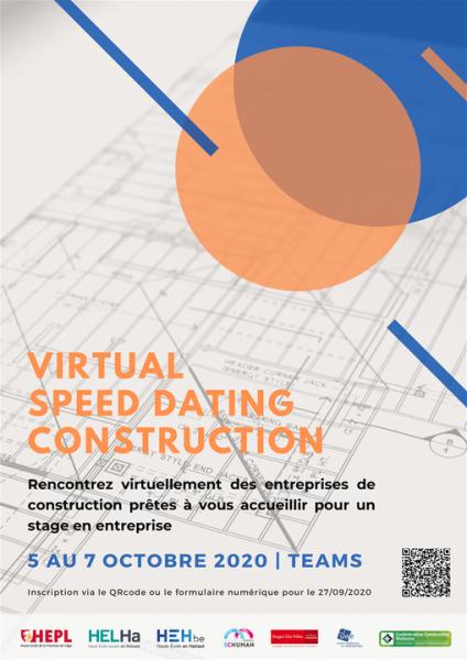 Virtual Speed Dating Construction: des stages à la clé!