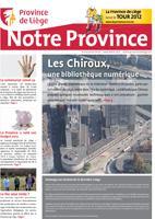 Notre Province n°56 - Décembre 2011
