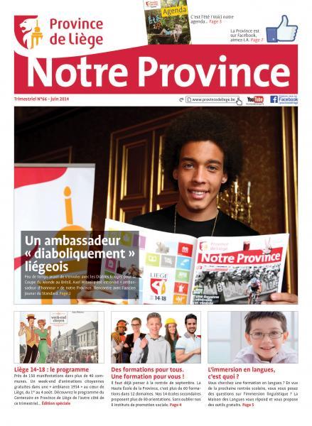Notre Province n°66 juin 2014