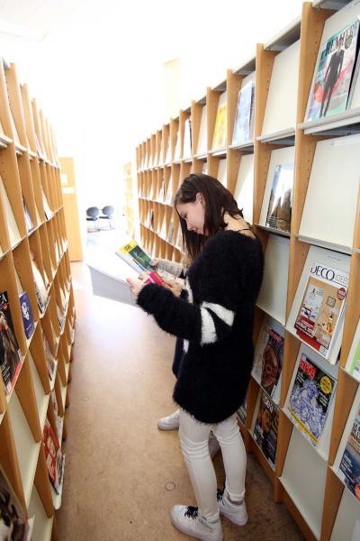 Bibliothèque Chiroux (Liège) - Revues