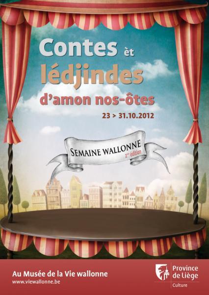 Affiche Semaine Wallonne 2012