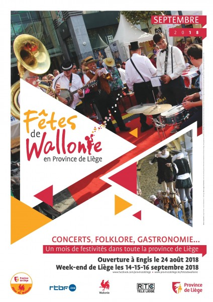 Engis ouvre les Fêtes de Wallonie le 24 Août