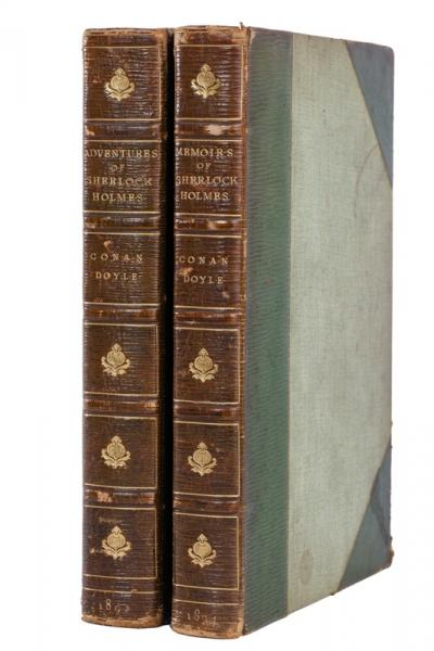 Deux éditions originales d'Arthur Conan Doyle - Province de Liège - Collections du Château de Jehay ©