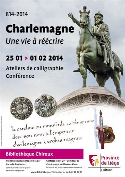 1200e anniversaire de la mort de Charlemagne - Bibliothèque Chiroux