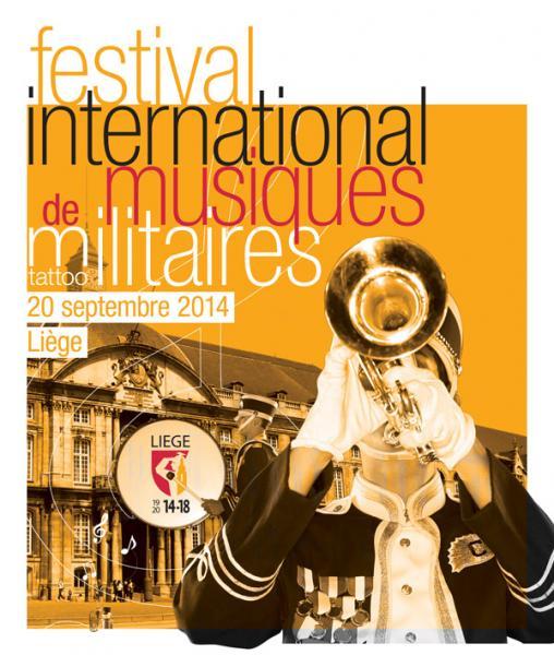 Festival international musiques militaires Tattoo Liège 20/9