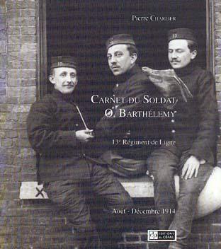CARNET DU SOLDAT O. BARTHELEMY